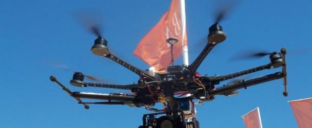 Llegaron los DRONes.  Expoagro «De todo y para todos»