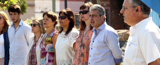 """EL VIADUCTO LLEVA EL NOMBRE """"HÉROES DEL CRUCERO ARA GRAL. BELGRANO"""" EN LA CIUDAD DE PERGAMINO."""