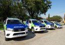 El Intendente Mauro David Poletti Oficializó el Pase de la Policía Local a Comunal y Presentó Formalmente los Nuevos Móviles Policiales para Todo el Distrito de Ramallo