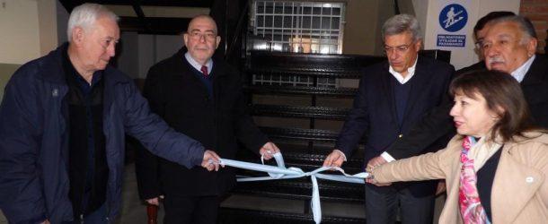 Ternium inauguró obras en el Instituto Fray Luis Beltrán.