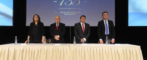 La Bolsa de Comercio de Rosario celebró su 135° Aniversario.