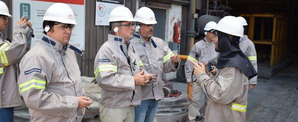 El ministro de la Producción de la Provincia de Santa Fe visitó la planta Villa Constitución de ArcelorMittal Acindar