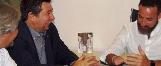 FULVIO MONTI recibió al ministro de trabajo de la Provincia de Santa Fe
