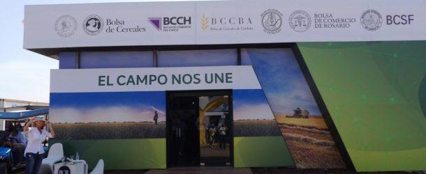 La Bolsas de Cereales y Comercio Del país Juntas en EXPOAGRO 2020
