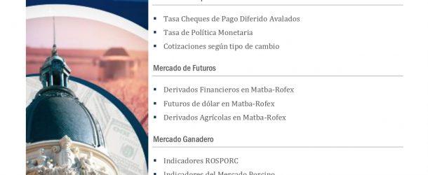 PANORAMA DE MERCADOS BCR Octubre 2020