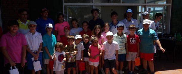 Jornada de la escuela de menores en el San Nicolás Golf Club.