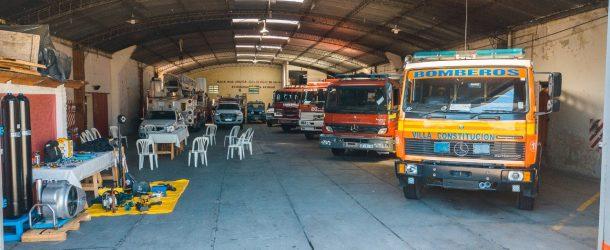ArcelorMittal Acindar donó equipamiento de última generación a los Bomberos Voluntarios de Villa Constitución