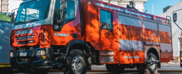 Se presentó la nueva autobomba de ArcelorMittal Acindar